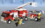 Lego City Fire Game